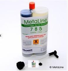 MetaLine 785, 1,05 kg - pružný, otěru odolný tmel