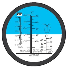 Refraktometr auto antifreez - 1 kus