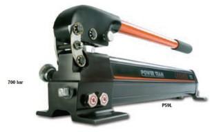 POWER TEAM, Jednočinná , dvourychlostní pumpa, typ P59L - 1 ks