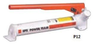 POWER TEAM, Jednočinná , jednorychlostní pumpa, typ P12 - 1 ks