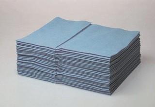 Multitex skládané modré - 400 skládané/ balení
