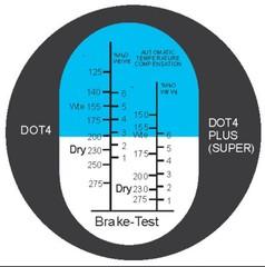 Refraktometr brzdová kapalina - 1 kus