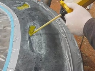 Oprava pneumatik stavebních strojů