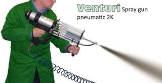 Venturi coating system