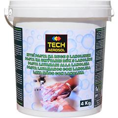 Mycí pasta na ruce s lanolínem - 4 Kg Dóza