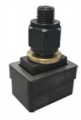 Obdelníkový děrovač plechu - 35 x 113 mm