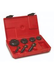 Kruhové děrovače plechu tloušťky 2 mm, sady 4 dílné