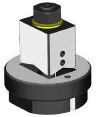 Obdelníkový děrovač plechu - 30 x 22 mm