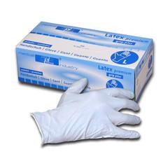 Jednorázové rukavice LATEX